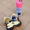靴に、防水スプレー! その使用方法は?