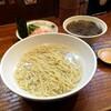 【金沢 ラーメン】「辛い牡蠣釜揚げつけ麺」自然派らーめん 神楽 (かぐら)