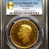 イギリス 1937年ジョージ6世5ポンド金貨PCGS PR64DCAM入荷しました。