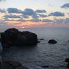 正月旅行 厳冬の山陰旅 令和2年最後の日御碕の夕日を観る