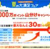 nanaco 総額1,000万ポイント山分けキャンペーン