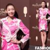ファッション画報、ラップスタイルピンクのワンピースルック