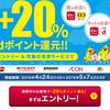 d払い/dカードiD決済 dポイントスーパーチャンスで+20%還元!【4/24-5/7(要エントリー)】