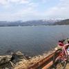 日本で一番大きな湖でのロングライド