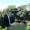 ハワイ島・虹の滝