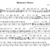 Moment's Noticeの楽譜を書く(3)