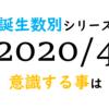 【数秘術】誕生数別、2020年4月に意識する事