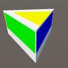 Unity:頂点生成による三角柱