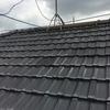 屋根修理 瓦の棟取り直し工事、全てご覧に入れます!(平板瓦・湿式工法)