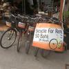 自転車でチェンマイ市内をサイクリング!SPチキンと土壁カフェ【子連れチェンマイ旅行記⑦】