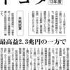 研究開発減税 トヨタに1201億円も