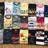 ゴールデンウィークを前に各ブランドのTシャツが続々と入荷してます(^^♪
