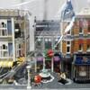 LEGO 埃除けの埃取りとモジュールビルディングの裏側