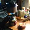 チタンコッフェルで炊飯