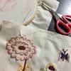 仕事と子育てのすきま時間に刺繍を楽しむ