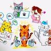 【擬人化】メーカー勤務のリーマンが、猫だけで会社を作ってみた【ネコ化】