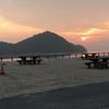 2回目の うさぎ島 「休暇村 大久野島」周辺 と 夕食