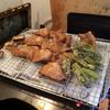 幸運な病のレシピ( 1282)夜:ロース薄切り唐揚げ、サンマ・アスパラ揚げ、汁