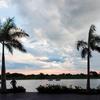 パラグアイ川の夕焼け 1
