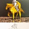 老舗チョコのロゴマーク「ゴディバ夫人」を折り紙で!
