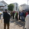 3月11日午後2時から堀一・堀二自治会館で、防災訓練を行いました。ご家族やお子さん連れの方を含め30名が参加されました。