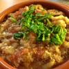 ✳︎ 焼いた茄子とトマトのペースト、ラディッシュの大蒜炒め、ビーツとラディッシュと胡桃とベビールッコラのサラダ、サバ定食