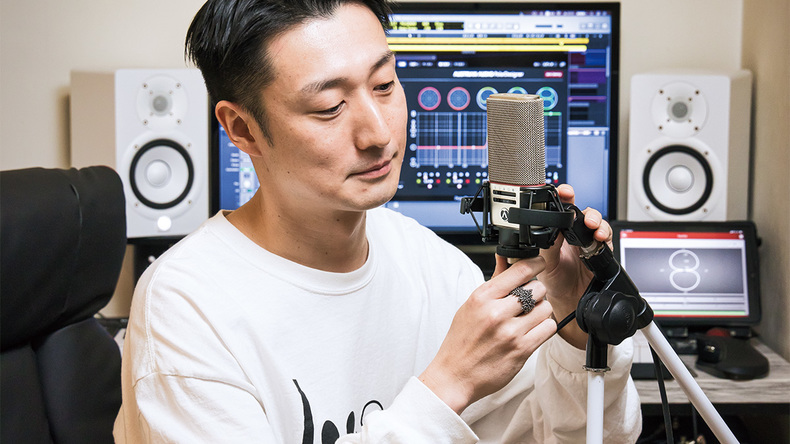 ichi takiguchi × AUSTRIAN AUDIO OC818 / OC18 〜ウィーンから新風をもたらすマイク・ブランド【Vol.6】