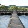 倉敷市の土木遺産・東西用水酒津樋門と一の口水門