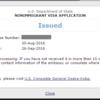 アメリカ転勤:ビザ取得の話