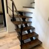 階段はハーフオープン?