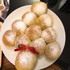 産後久々のパン作り記録・クリスマスツリーちぎりパン