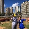 総勢6人!家族旅行inハワイ♡サイクリングツアー・アラワイ運河〜ミッションハウス博物館編