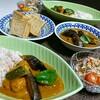 肉団子と夏野菜のカレー