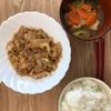 休日ランチ 白菜とツナ炒め