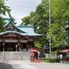 多摩川浅間神社。