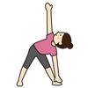 ヨガの三角のポーズで膝が痛い:効果効能について解説