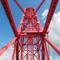 赤いリフト橋