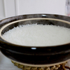 朝しごと…土鍋ご飯 と チキンソテーお弁当