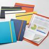 【最新文房具】A4サイズの書類をコンパクトに折りたためる二つ折りクリアーファイル「コンパック」発売!