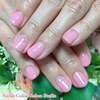 富山の桜も咲く頃です♡うる艶さくらピンクのワンカラーネイル☆ジェル