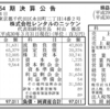 株式会社レンタルのニッケン 第54期決算公告