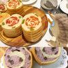 薔薇デコ食パン!