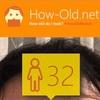 今日の顔年齢測定 124日目