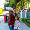 MBKからルンピに公園、日本大使館まで歩いてみた、遠かった・・・