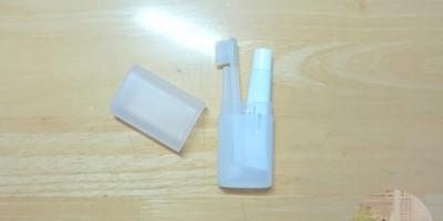 旅行から日常まで。コンパクトで便利な無印 携帯用歯みがきセット