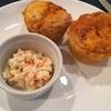 ケンタッキー風のコールスローサラダをサイドディッシュに。これまた簡単レシピ。