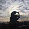 【朝倉彫塑館】屋上からの風景