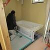 新築戸建て注文住宅の施工(外壁サイディング・浴室の設置)