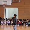 6年生を送る会① 開会~チーム旗受け渡し