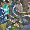 森のお遊び会 秋の収穫祭 神山みさコンサート